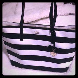 Kate Spade sparkle tote purse